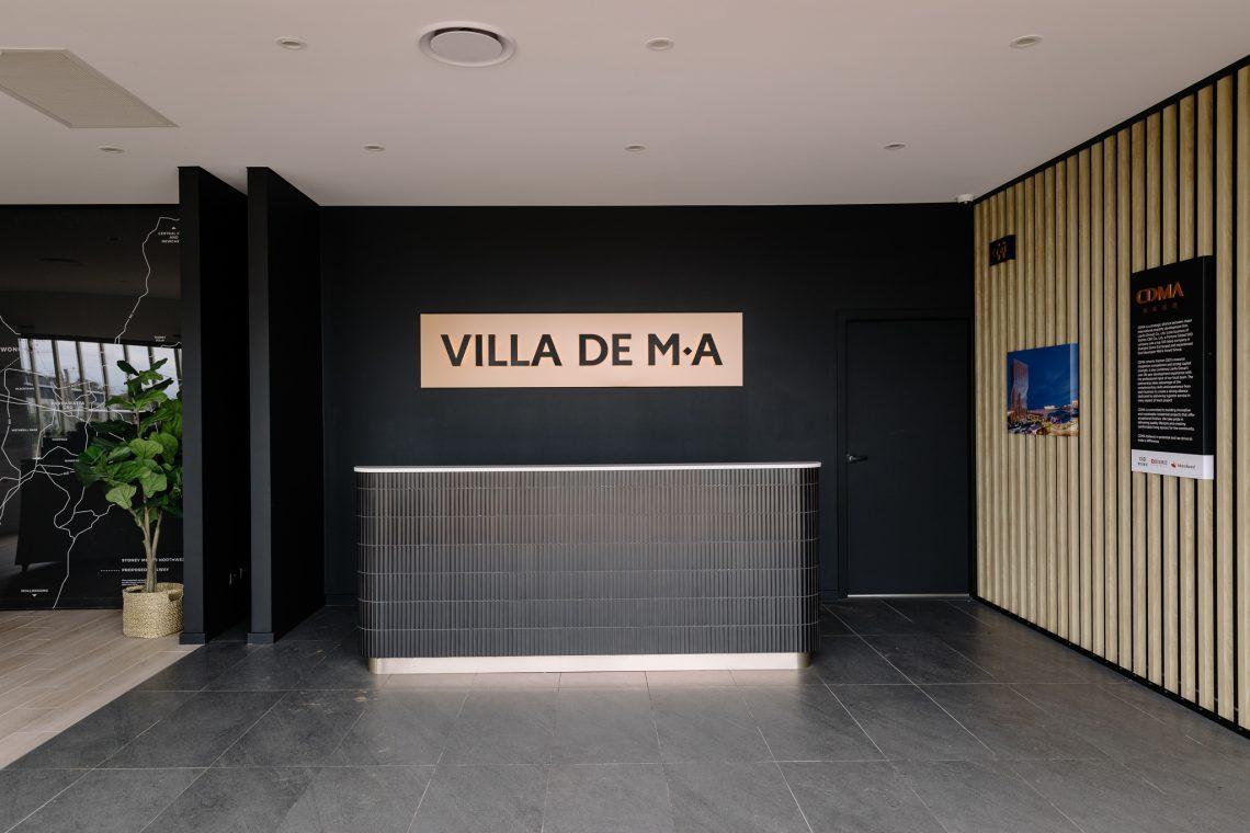CDMA Display showroom